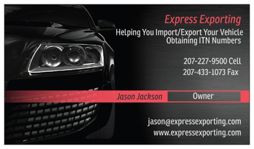 Obtain Your ITN Numbers Exporting Express